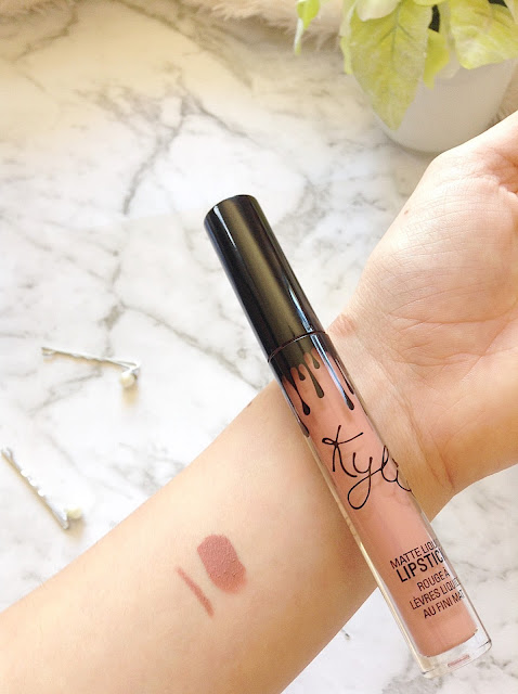 Kylie Cosmetics Candy K Lip Kit Review Colour