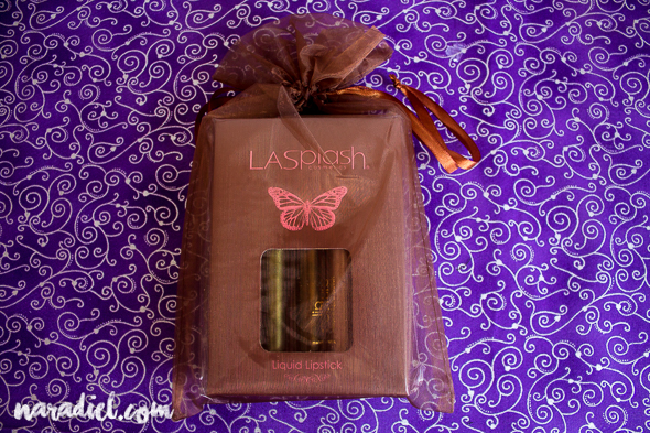 Review de los labiales Golden Goddess de LASplash