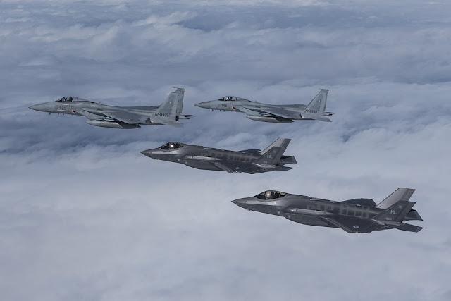 Japan sell F-15 buy F-35