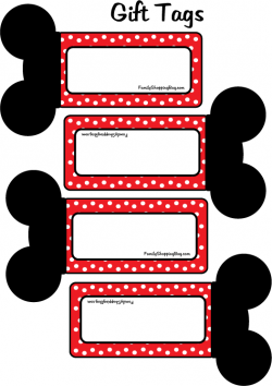 Mike and Minnie Party in Red Free Printable Mini Kit.