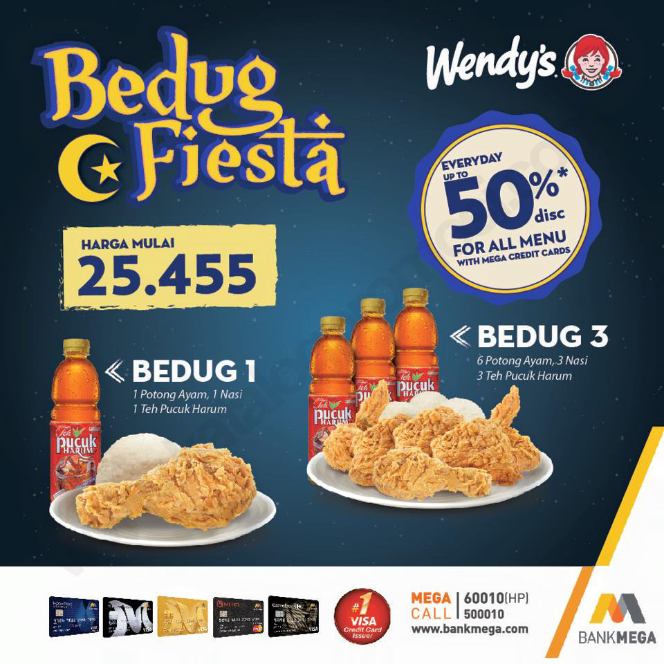 Harga Paket Wendys Bedug Fiesta 2017