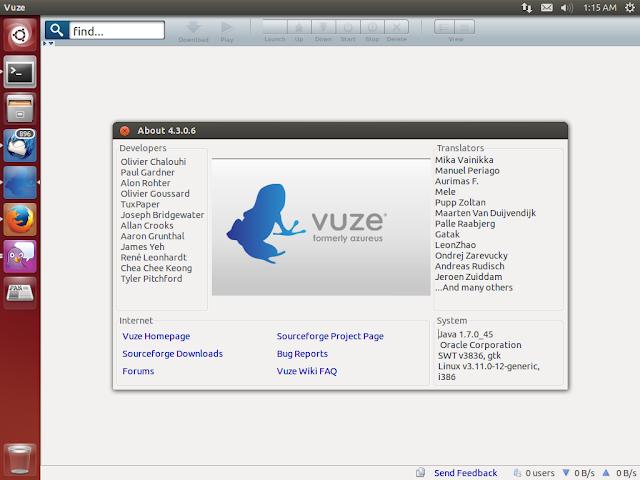 Como instalar o Vuze no seu Ubuntu, Fedora, OpenSuse, Mageia, ArchLinux via código fonte!