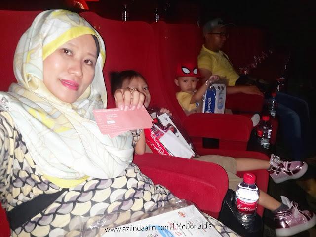 SMURFS THE LOST VILLAGE BERSAMA ANAK-ANAK PUSAT KEBAJIKAN DAN RONALD MCDONALD HOUSE CHARITIES (RMHC) MALAYSIA
