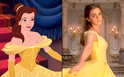 Belle 1991 VS Belle 2017 Belle