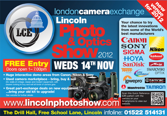 LCE Lincoln Photo & Optics Show