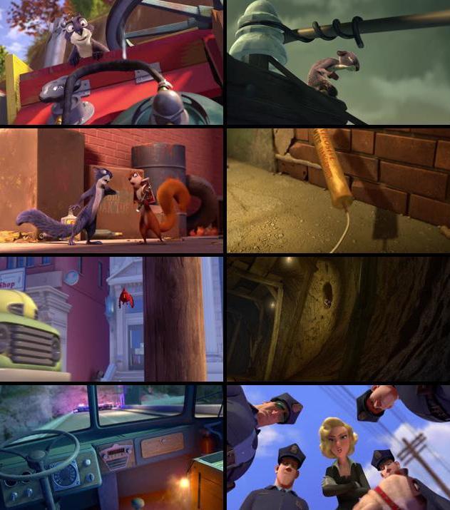 The Nut Job 2014 Dual Audio Hindi 720p BluRay