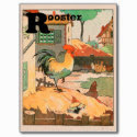 Rooster Alphabet Postcards
