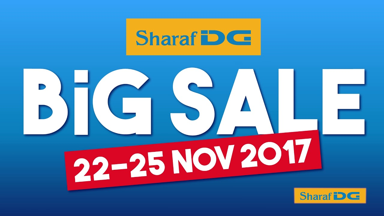 The Big Sale at Sharaf DG - Offers in Dubai