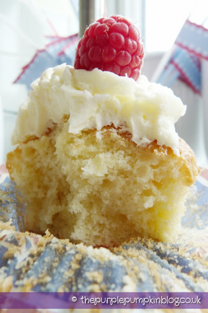 Lemon & Raspberry Cupcakes - Diamond Jubilee