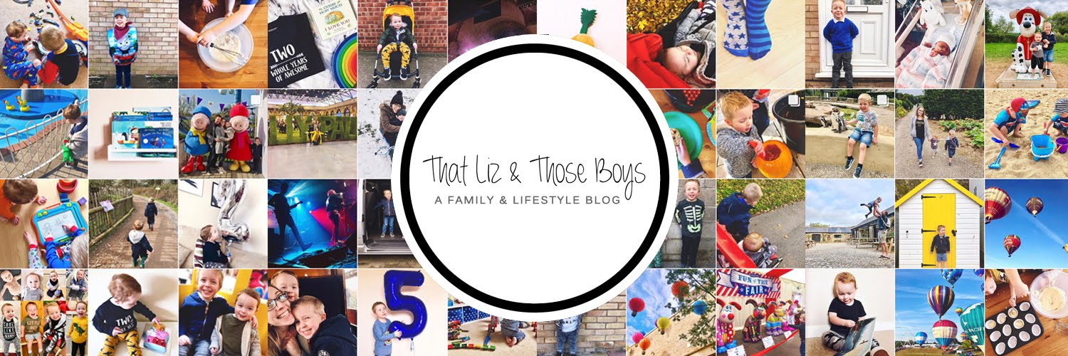 That Liz & Those Boys: A Family and Lifestyle Blog