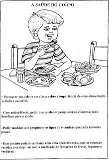 Projeto alimentação saúde e nutrição
