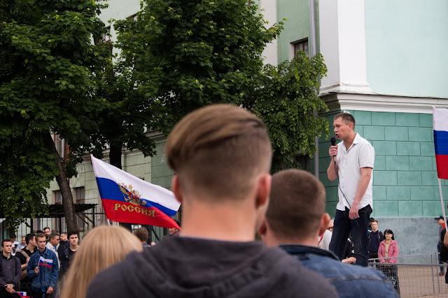 Фотографии с митинга 12 июня против коррупции в Смоленске