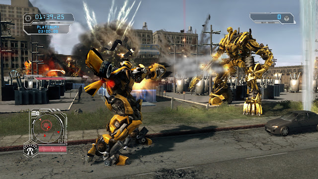 Transformers Revenge of the Fallen PC Full Version Screenshot 2