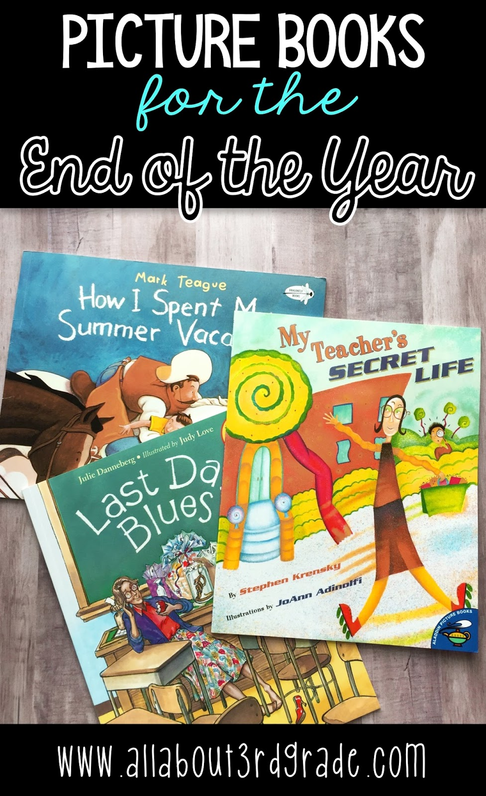 Picture Books For The End Of The Year