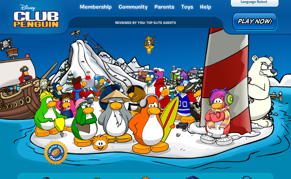 www club penguin waddle and meet new friends
