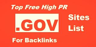 .Gov backlinks list