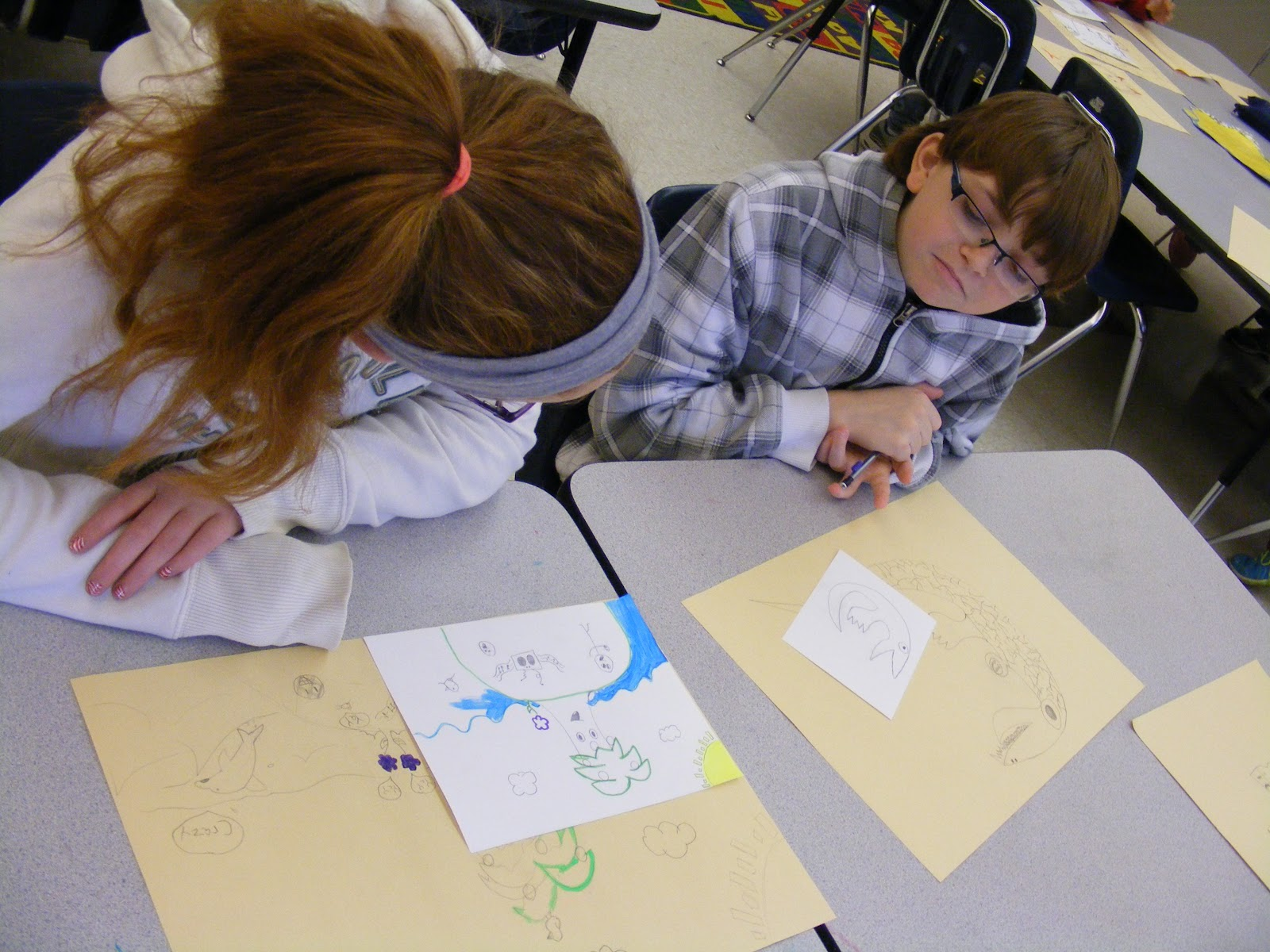 Suffield Elementary Art Blog Art Critique 5th Grade Style