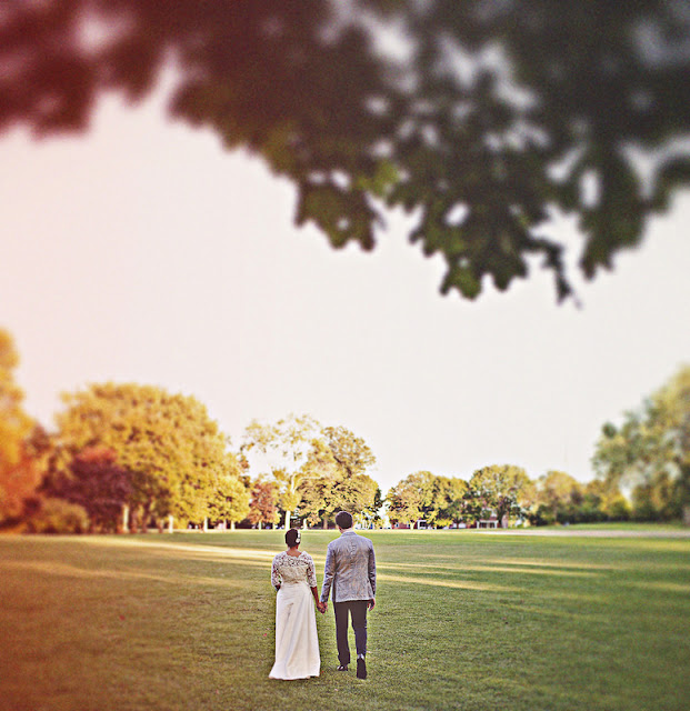 simple and lovely Chicago wedding   photo by the Dutchess and the Rabbit