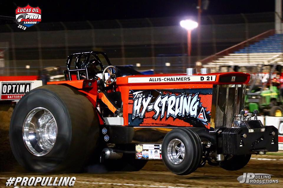 Tractor Pulling News - Pullingworld com: Q & A with Brice Terry