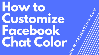 How to Customize Facebook Chat Color