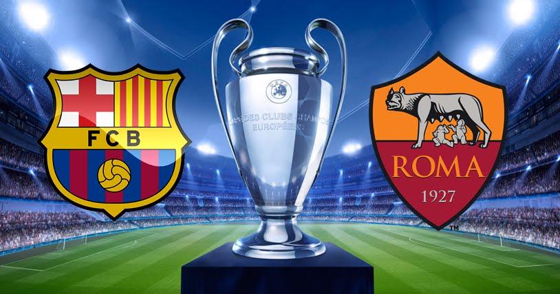 DIRETTA Barcellona-Roma Streaming Gratis in chiaro TV su Canale 5 e RSI LA 2 | Champions League