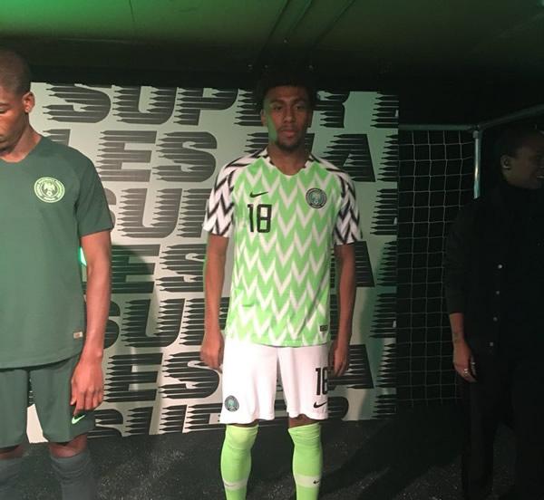 Nigeria unveils new kit