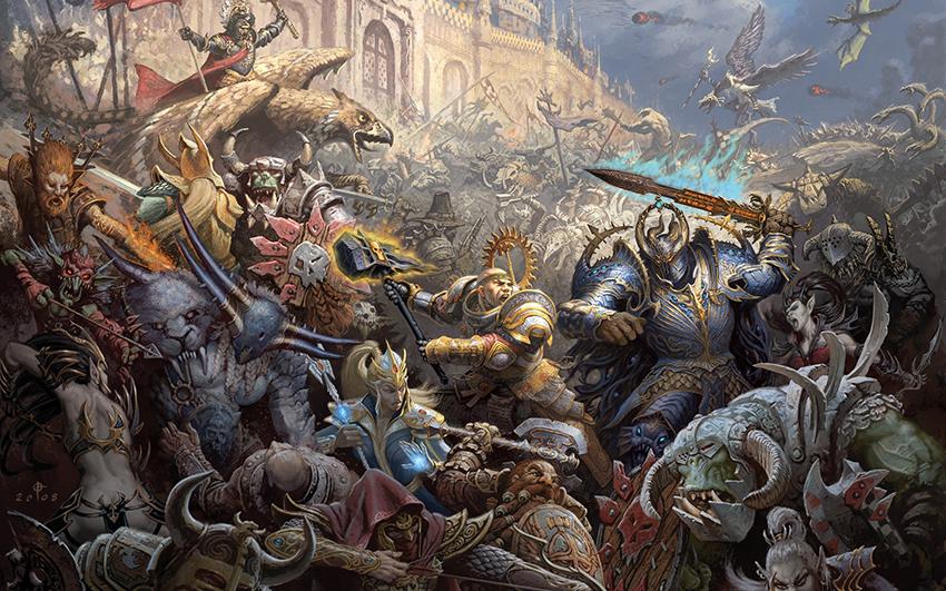 Se anuncia entrega de Warhammer con género hack n'slash
