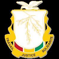 Logo Gambar Lambang Simbol Negara Guinea PNG JPG ukuran 200 px