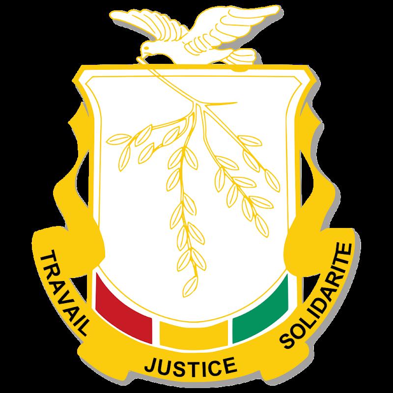 Logo Gambar Lambang Simbol Negara Guinea PNG JPG ukuran 800 px