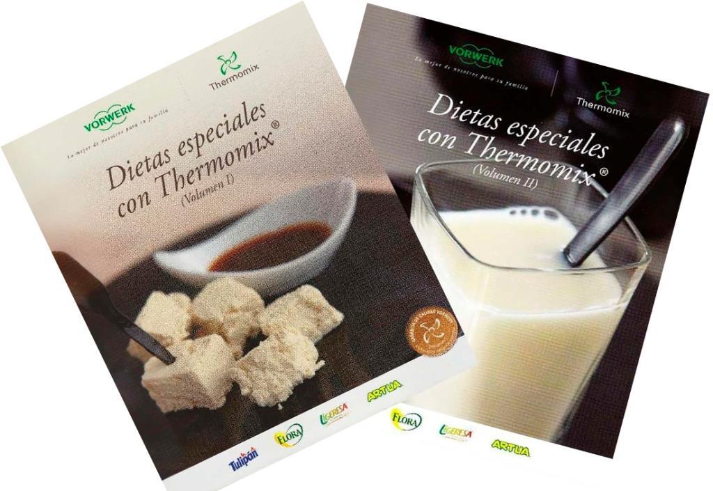 Dietas especiales con Thermomix, Volumen I y II