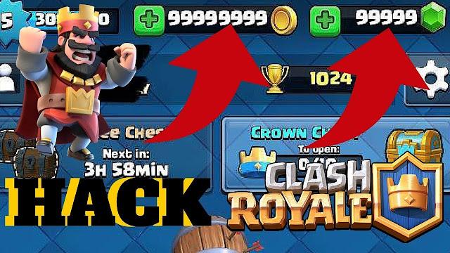 Mod dinheiro infinito Clash Royale, APK + Mod/Hack