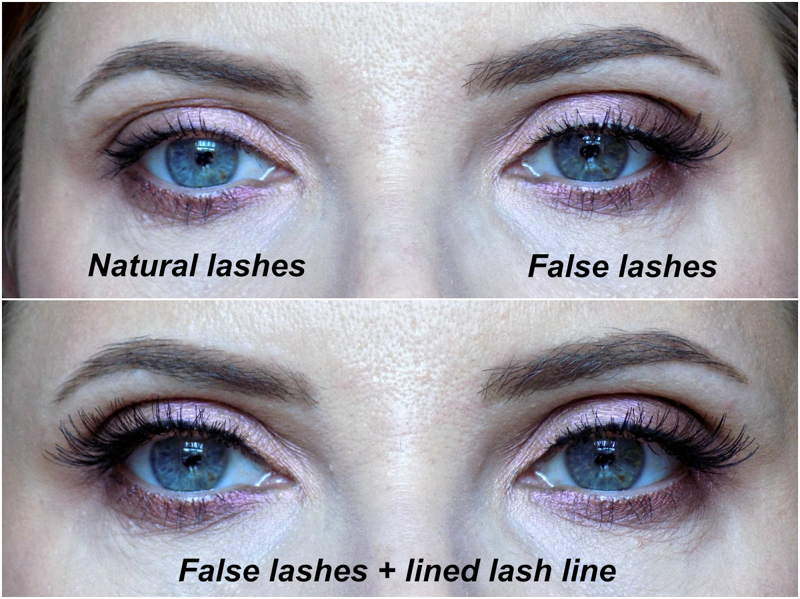 Tips on applying false lashes