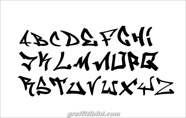 Graffiti Letters ABC, tags ideas alphabet styles