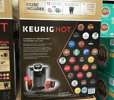 Costco 1881975 - Single-serve coffee at its best with the Keurig K525C