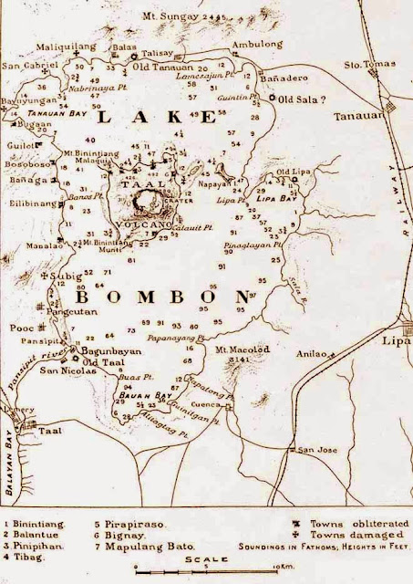 old map of Taal