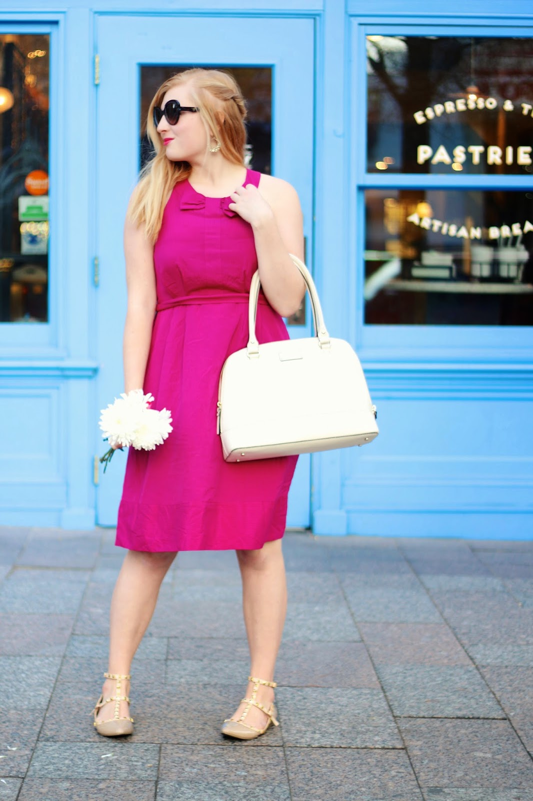 Hot Pink OOTD for SPRING!