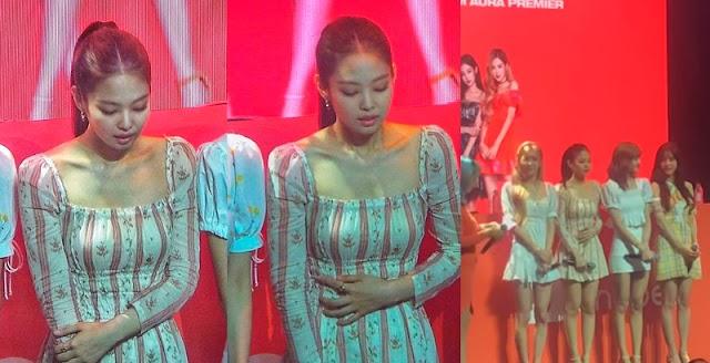 Los fanáticos están preocupados después de ver a Jennie con malestar en un evento en Manila