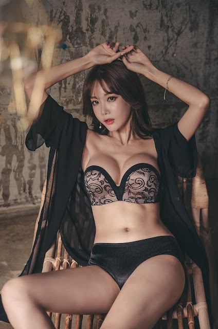 Hot girls Beauty Girls sexy body Korean Model Yoon Ae Ji 5