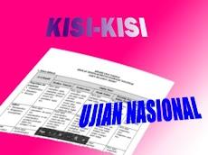ANALISIS KISI-KISI SOAL PRA UN BAHASA INDONESIA SD MI 2013 KULON PROGO