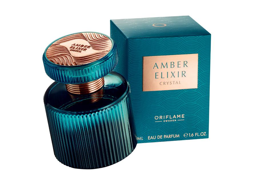 Eau de Parfum Amber Elixir Crystal da Oriflame