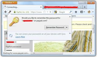 Password Firefox