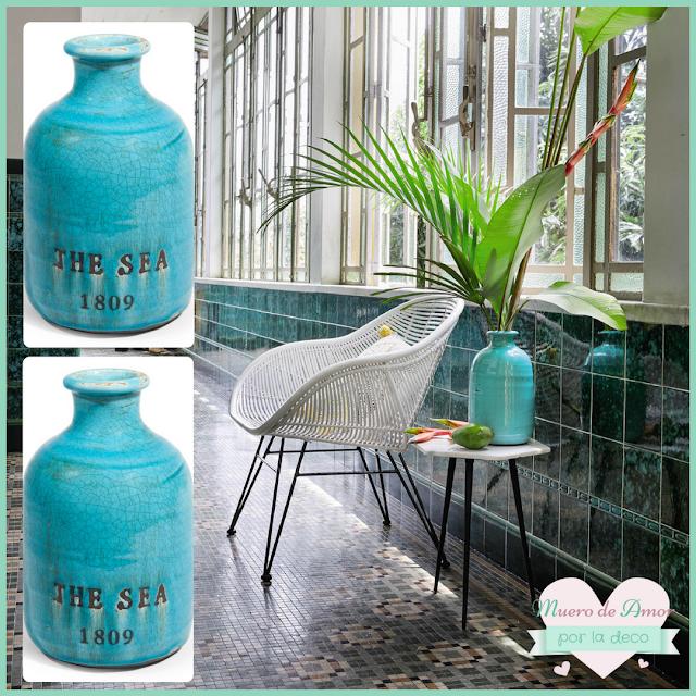 Jarrones Azules para Decorar tu Casa-Maisons Du Monde-By Ana Oval-13