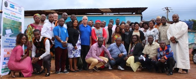 Journalists Schooled to be Vectors of Peace