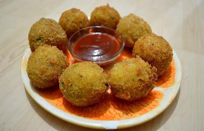 Vegetable Potato Balls