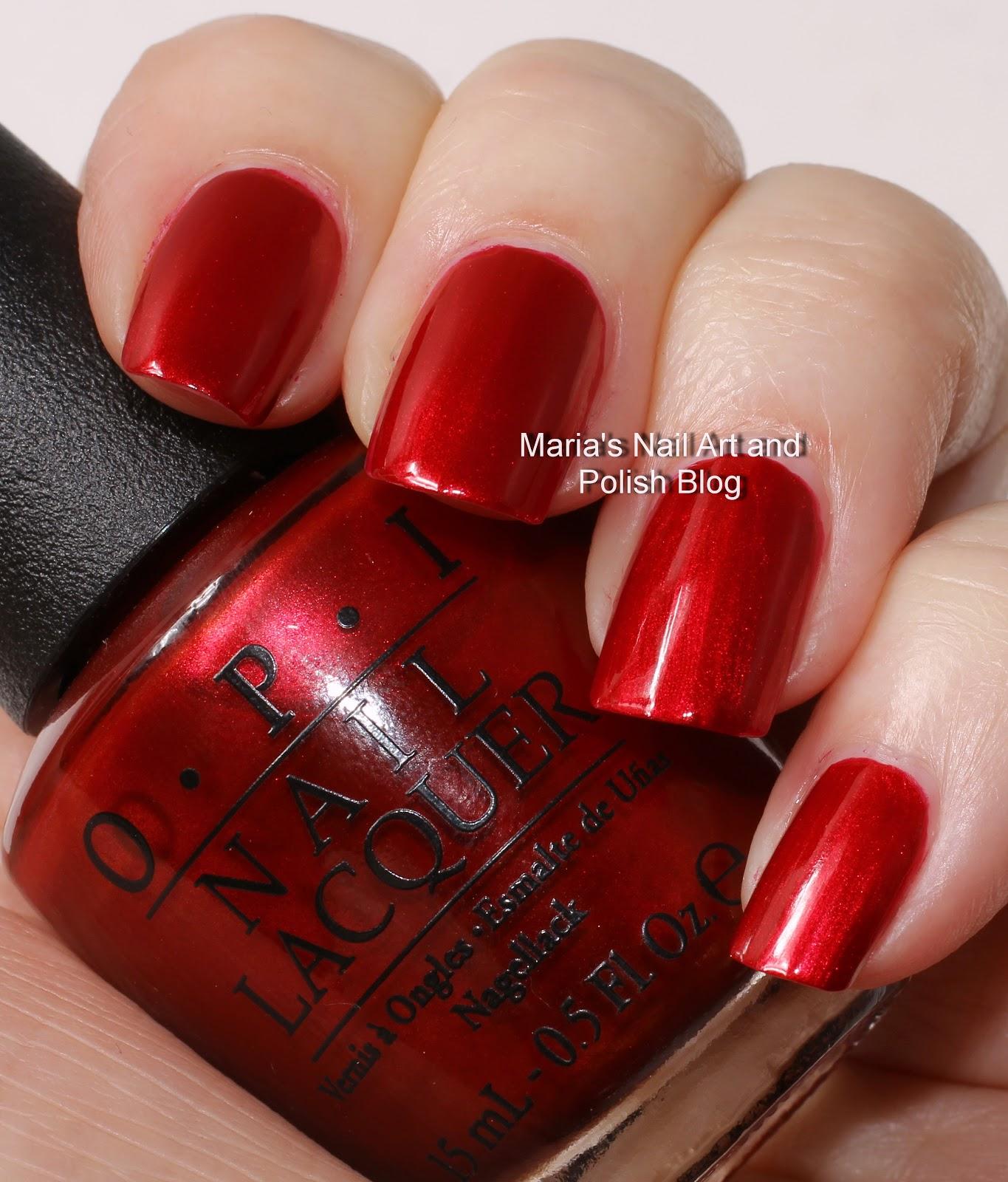 Marias Nail Art and Polish Blog: OPI Mariah Carey Holiday ...