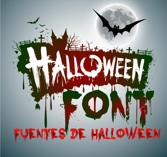 Fuentes de Halloween 2018 - Terror Font
