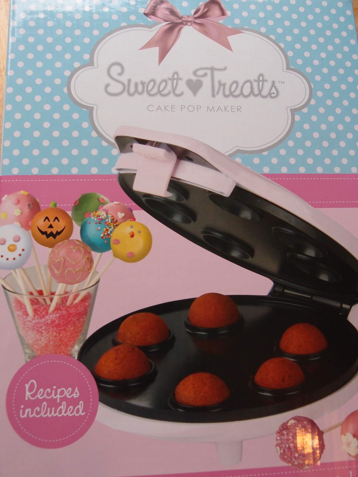 sweet craftiness review cake pop maker from. Black Bedroom Furniture Sets. Home Design Ideas