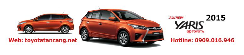 """Giá xe Toyota Yaris 2015 nhập khẩu - """"Quả bom tấn"""" của dòng Hatchback"""