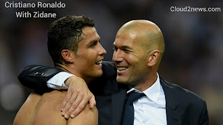 Cristiano Ronaldo , Coach  Zinedine  Zidane,  Sports news- Best player of the year 2017