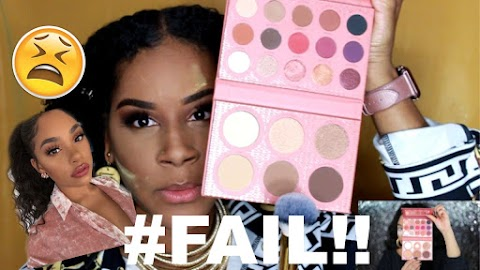 I Tried Following a ItsMyRayeRaye Pink Glam Makeup Tutorial